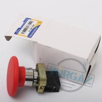 АСКО-УКРЕМ XB2-BR42 кнопка «грибок» (d 60 мм) «СТОП» красная - фото 1