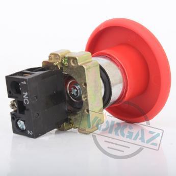 АСКО-УКРЕМ XB2-BR42 кнопка «грибок» (d 60 мм) «СТОП» красная - фото 2