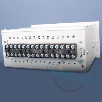 Блок защиты котла БЗК-М - обратная сторона блока