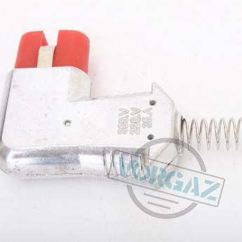 Фото 1 для ZA 729 Si-X1006 разъема термостойкого двухконтактного