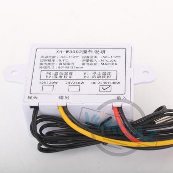 Фото 2 терморегулятора XH-W3002 цифрового
