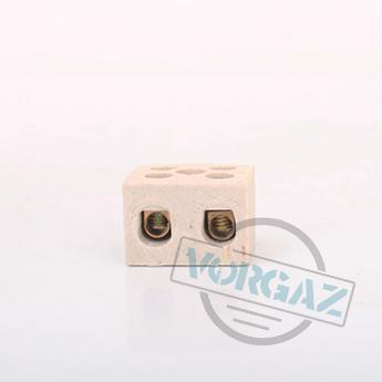 Керамические термостойкие клеммные колодки 2х2,5 - фото 1