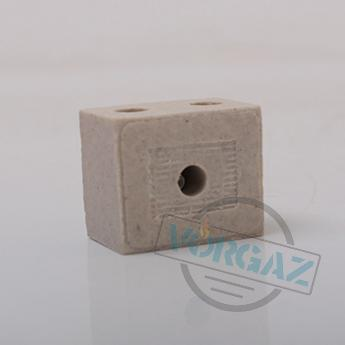 Керамические термостойкие клеммные колодки 2х2,5 - фото 2