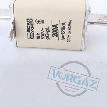 Предохранитель 200а nh1 gL gG 500v l1=120KA фото 2