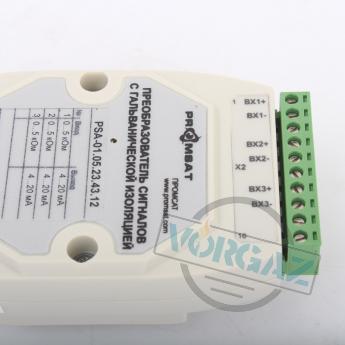 Преобразователь сигналов PSA-01.05.23.43.12 с гальванической изоляцией - фото 3