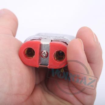 Разъем двухконтактный термостойкий (ZA727Si)-TX1004 фото 2